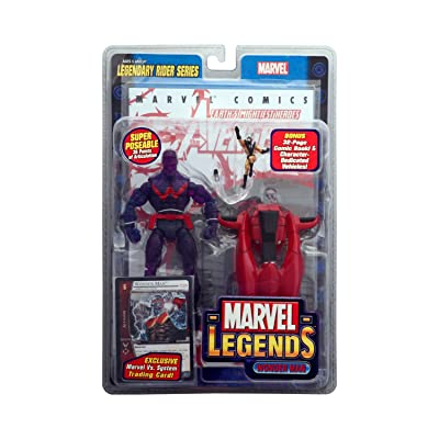 Marvel Legends - Legendary Rider Series - Wonder Man Action Figure 2005: Toys & Games