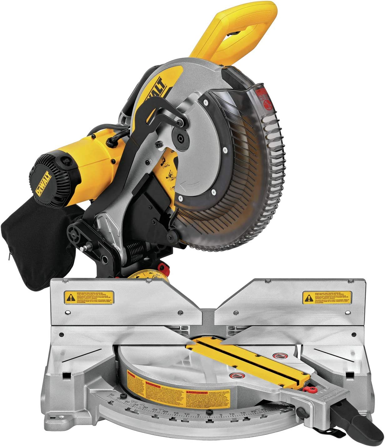 DEWALT Miter Saw, Double-Bevel, Compound, 12-Inch, 15-Amp (DWS716)