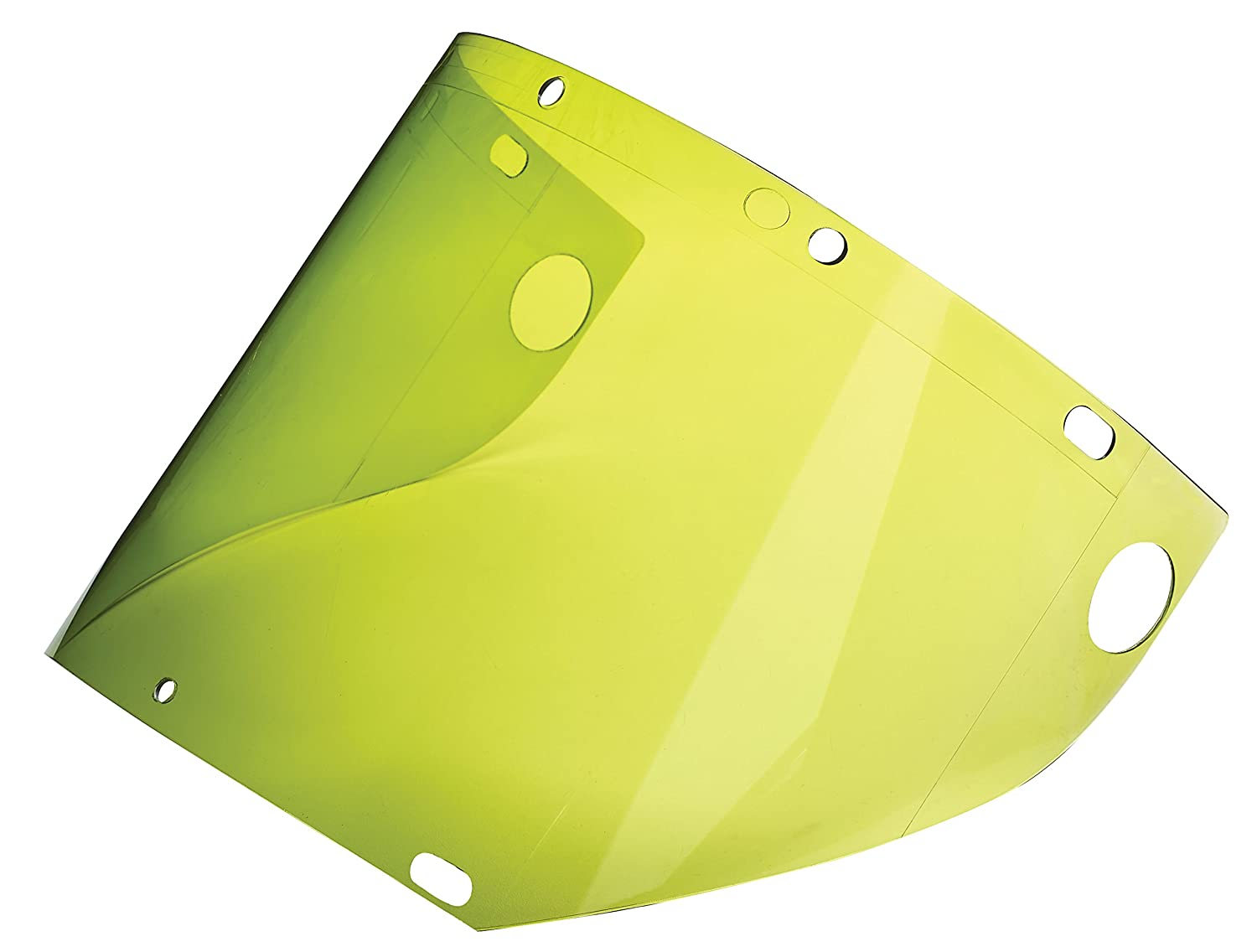 9.5 x 20 0.060 //1.5 mm with Holes at The Bottom to Fit on Chin Guard EPCG500 9.5 x 20 0.060 //1.5 mm with Holes at The Bottom to Fit on Chin Guard EPCG500 Dynamic Safety EP919MGAFT//60 ARC Flash Molded Visor