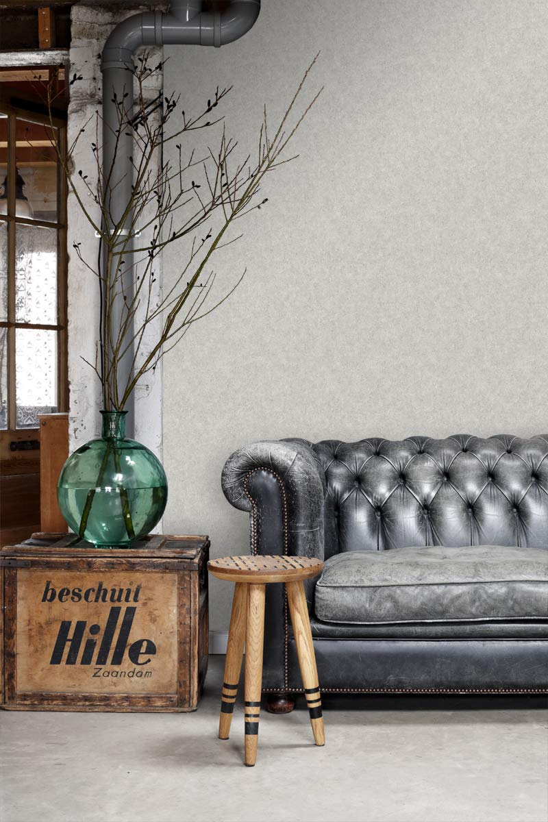 papier peint uni brun cuivr/é brillant 138835 dESTAhome.nl