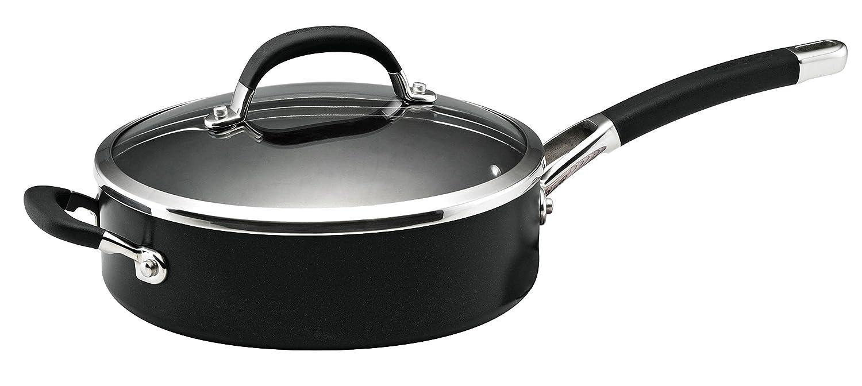 Circulon Premier Professional covered Saute Pan, Hard-Anodized Aluminum, Black, 24 cm Meyer Group Ltd. 82822