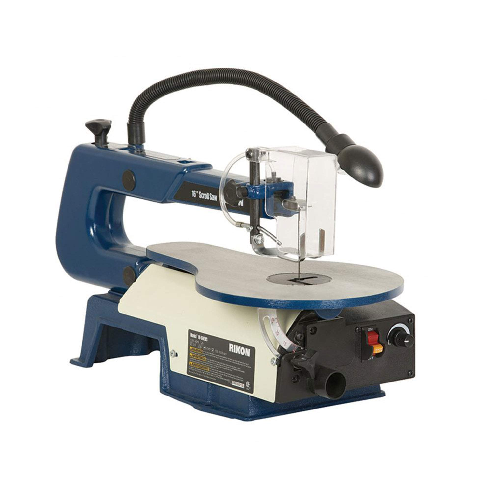 Rikon 10-600VS Scroll Saw With Lamp, 16-Inch by RIKON Power Tools