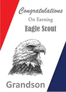 image relating to Eagle Scout Congratulations Card Printable called : Eagle Scout Congratulations Card: Sparkling Eagle