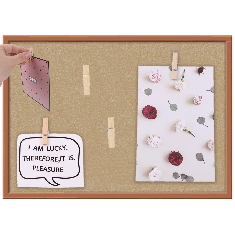 Pinnwand Kunstwerke Pinnnadeln Daumenklebebrett Korktafeln Bastelprojekte Daumenhaken f/ür Fotos Notizen 80 St/ück Pinnnadeln mit Holzklammern