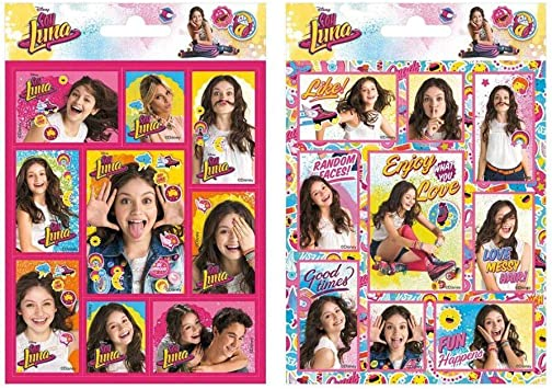 Disney Channel Soy Luna 2 Sheet Stickers Pad Original Amazon Ca Office Products