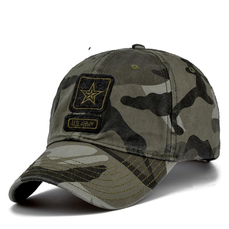 sombrero de los hombres Sombreado en gorras de béisbol de verano Sombreros  Camo al 47f44a6c7f1