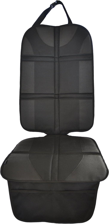 Protector de Asientos Automotrices (Material Premium Royal Oxford) - Isofix – Protege la Tapicería de los Asientos Infantiles – Resistente al Agua, Acolchado, con Bolsillos de Almacenamiento