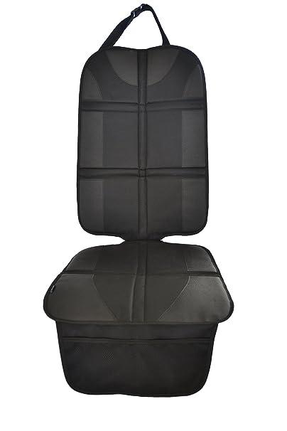 Autositzauflage (Premium Royal-Oxford-Material) zum Schutz vor Kindersitzen Isofix geeignet, Auto-Kindersitzunterlage wassera
