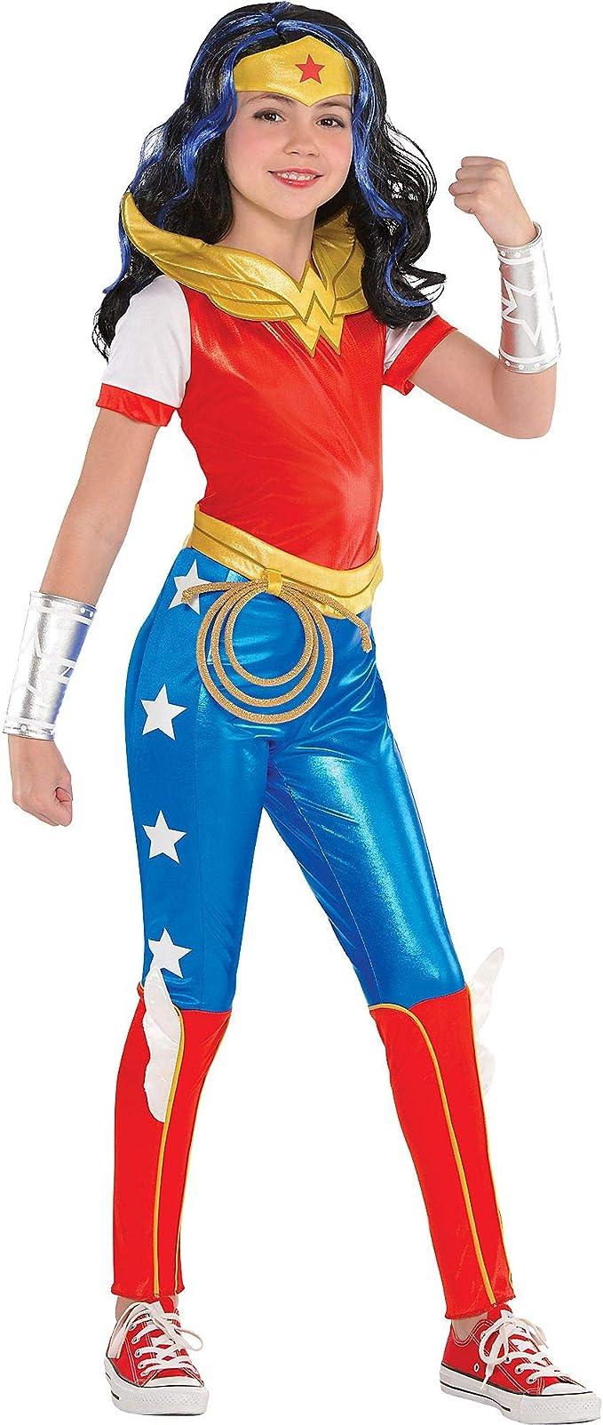 Costumes USA Disfraz de superhéroe para niñas de la Mujer ...