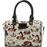 Loungefly Belle Tattoo Flash Duffle Bag