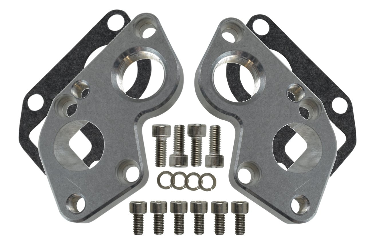 Converts BBC to LS1 LSX Engine LS Electric Water Pump Adapter Plate 551515 ICT Billet