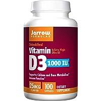 Jarrow Formulas Vitamin D3 1000IU, 100 Softgels