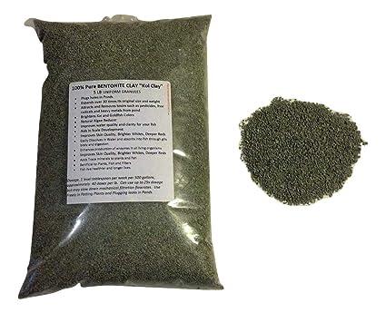 Amazon.com: 5 lb 100% puro Granular de arcilla bentonita ...