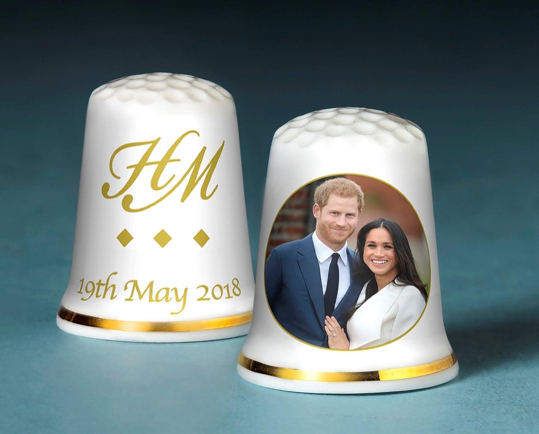 Peter Jones China Prince Harry & Meghan Markle Royal wedding collezione ditale