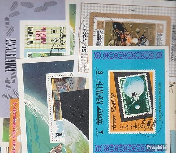 Prophila Collection Motivos 100 Diferentes Espacio Bloques y Sheetlet (Sellos para los coleccionistas) El Espacio: Amazon.es: Juguetes y juegos