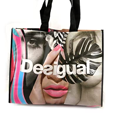 Amazon.com: Shopping bag Desigual multicolored.: Clothing