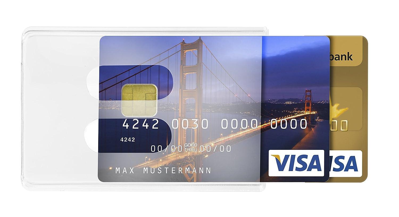 Karteo® Tarjeteros para Tarjetas de Credito para dos ...