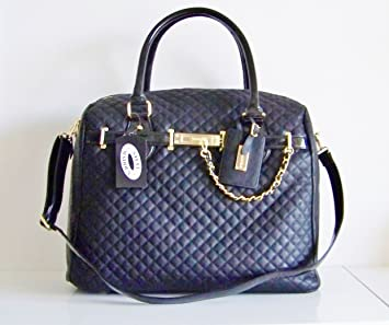 4c80fbdf1e53 Amazon.com   Steve Madden Black X-large Tote Weekender Overnight Duffle Gym  Baby Bag Carry All on Travel   Diaper Tote Bags   Baby
