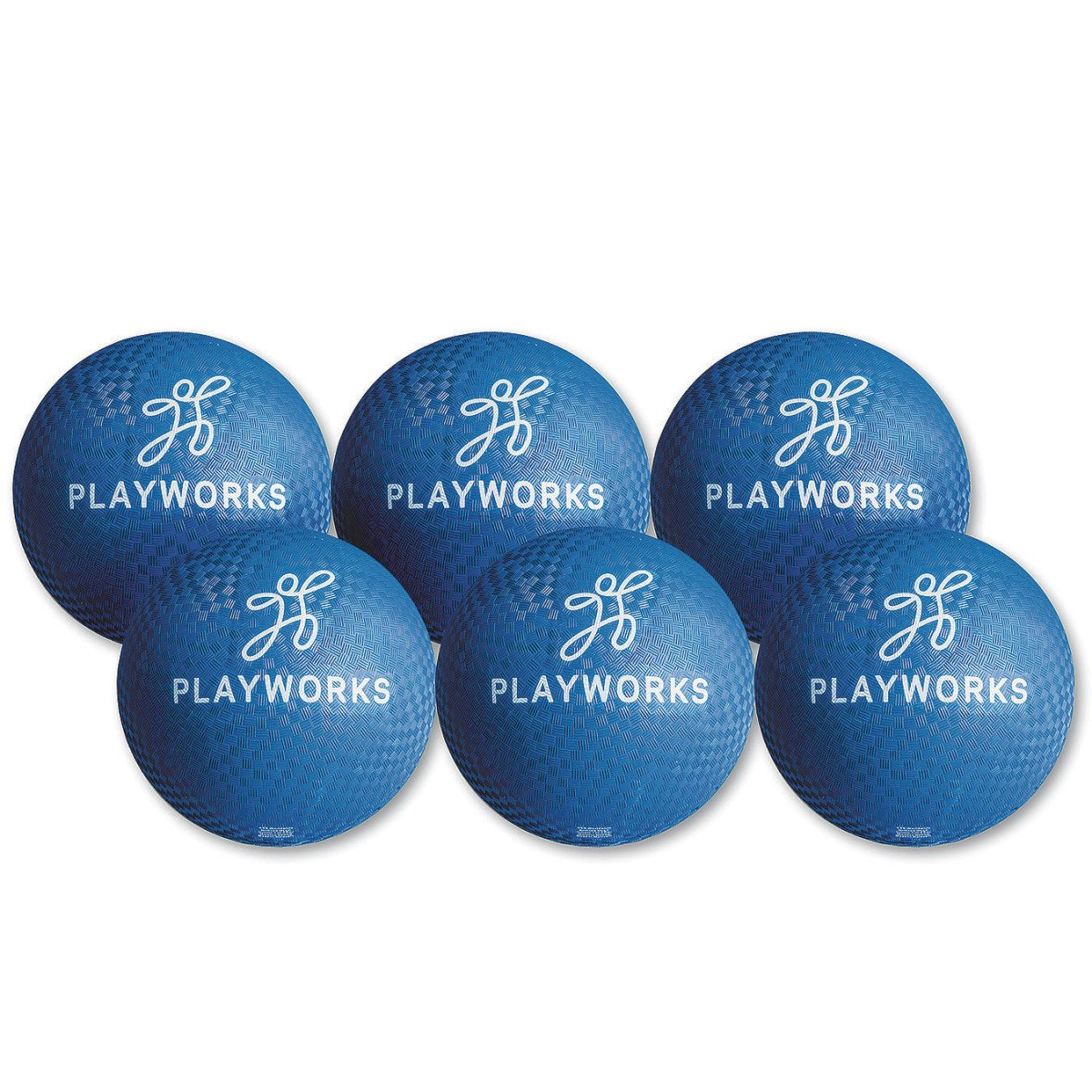 Blue S/&S Worldwide Education PWK004 10 Play Works Playground Balls
