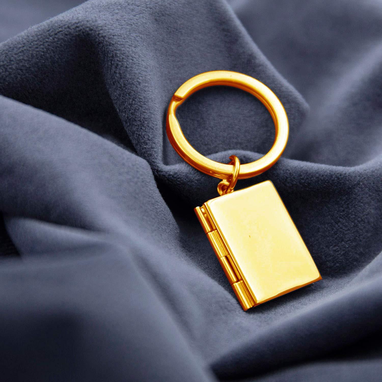 anniversario Phocksin Portachiavi con ciondolo portafoto gioiello per compleanno