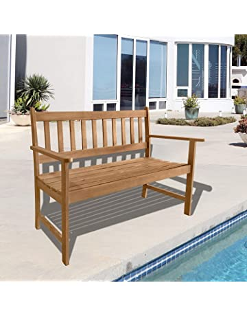 Swell Amazon Com Benches Patio Seating Patio Lawn Garden Gmtry Best Dining Table And Chair Ideas Images Gmtryco