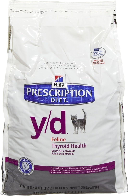 Hill'S Diet Feline Thyroid Health Cat Food 4Lb Bag