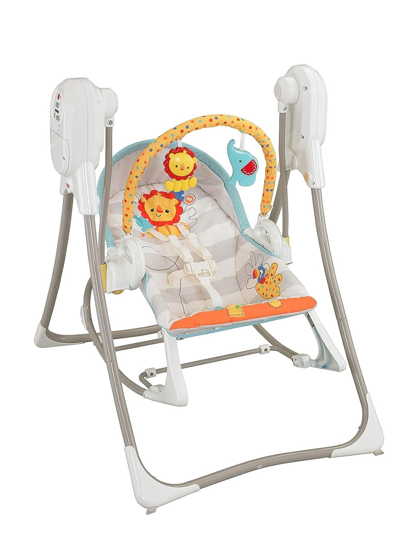Fisher-Price Columpio hamaca 3 en 1, para bebé recién nacido ...