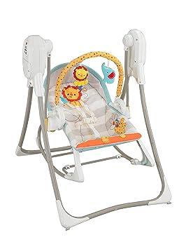 908239438 Fisher-Price Columpio hamaca 3 en 1, para bebé recién nacido (Mattel  BFH07): Amazon.es: Juguetes y juegos