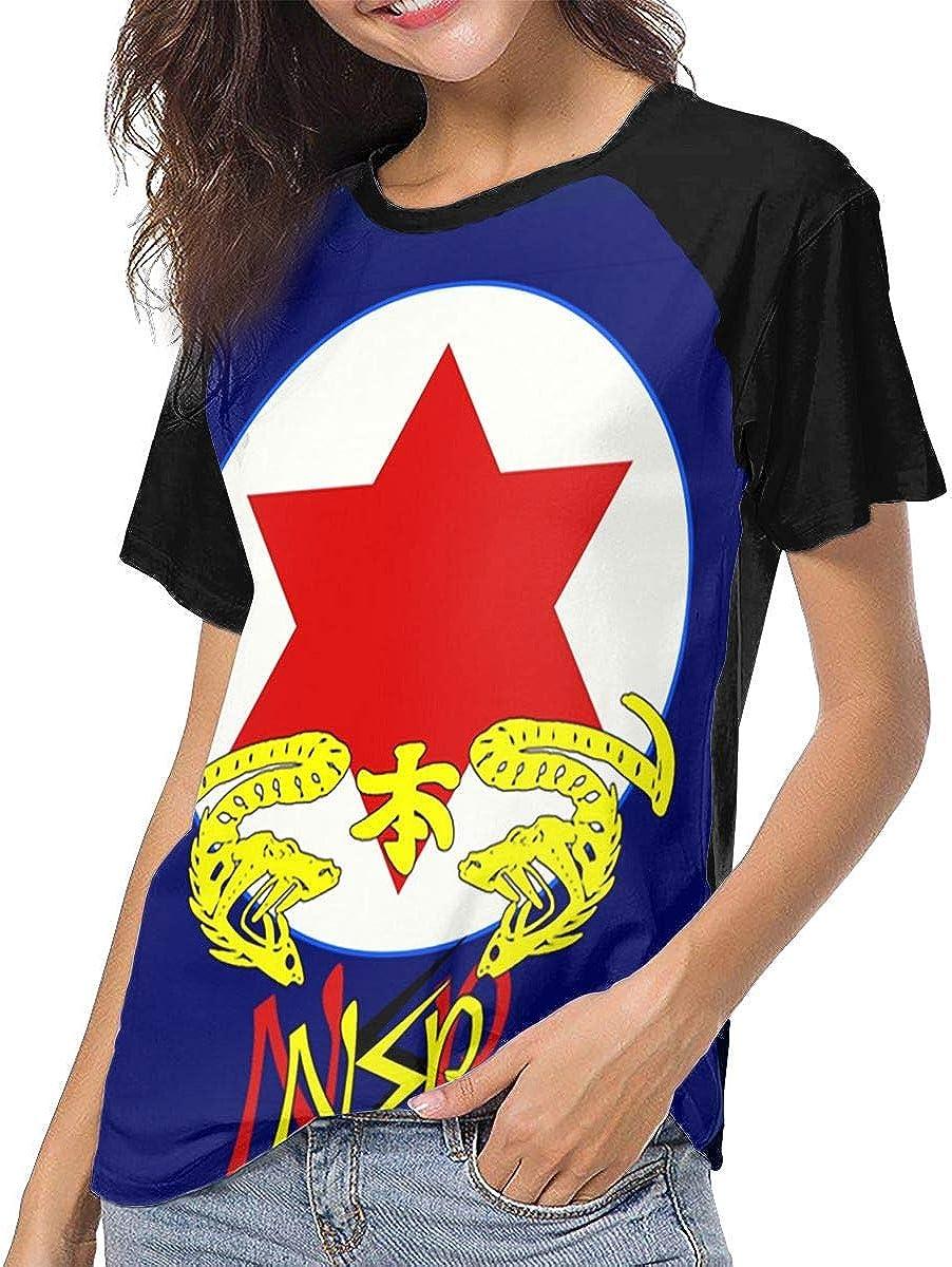 Ninja Sex Party Logo Baseball T Shirt Womens Short Sleeve Round Neck Tee Shirt