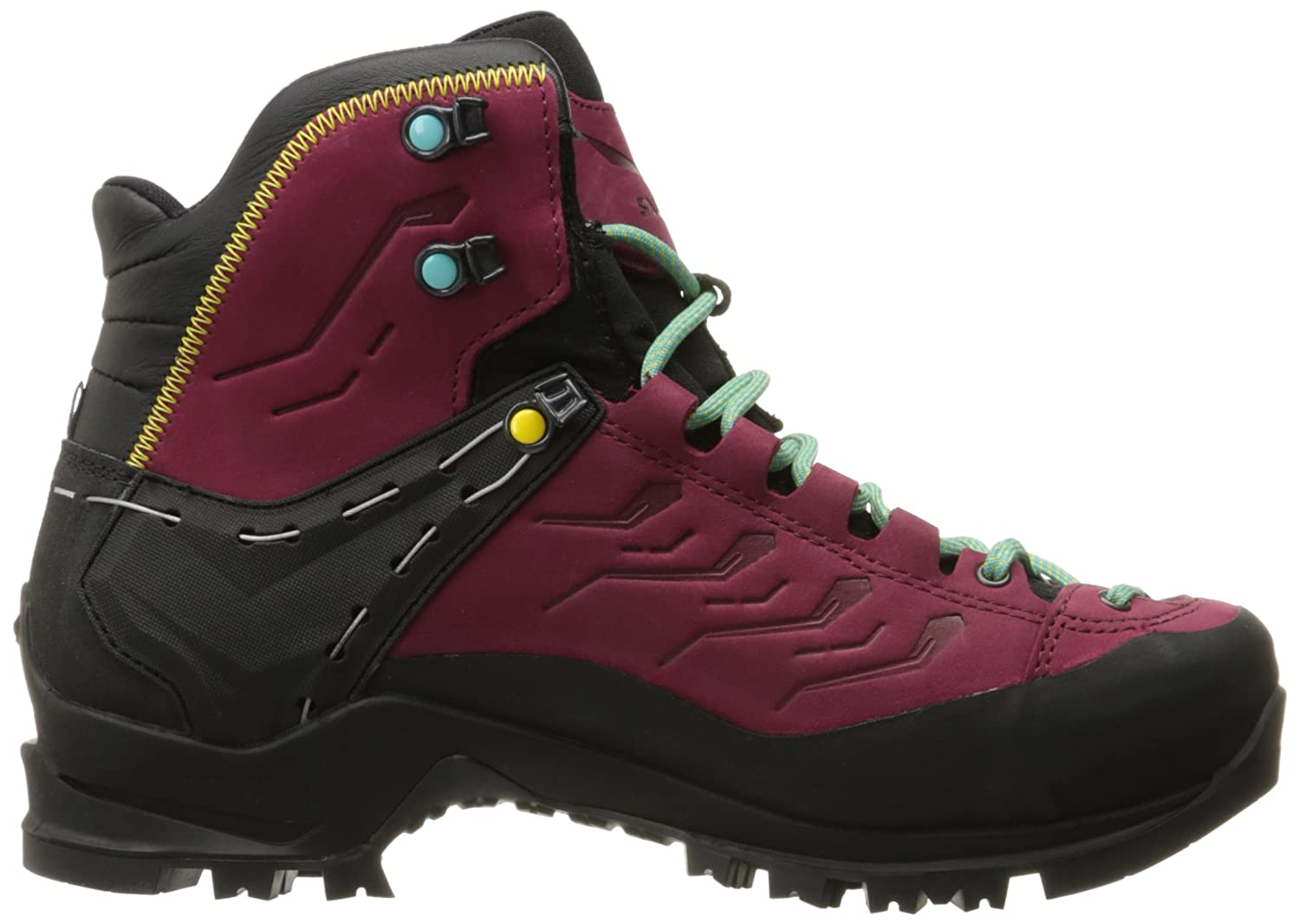 Salewa Women's Ws Rapace GTX High Rise Hiking Boots, (Tawny Port/Limelight 8874)