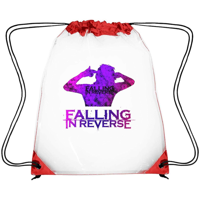 8de9fb5c6ee2 Amazon.com : uter ewjrt Waterproof Alone Clear Cinch Bags Sport Gym ...