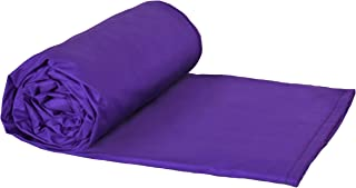 "product image for Weighted Blankets Plus LLC - Made in USA - Adult Extra Large Weighted Blanket - Purple - Cotton/Flannel (80"" L x 58"" W) 25lb High Pressure."