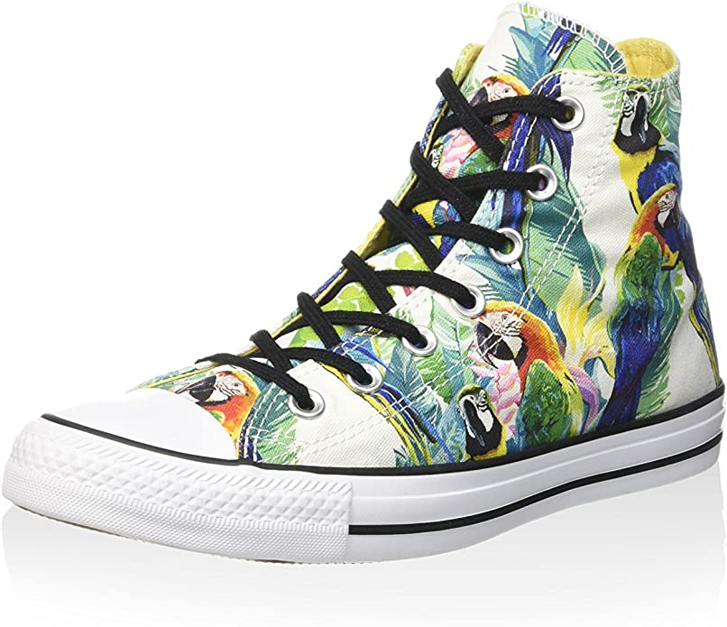 Converse Chucks (Chuck Taylor) All Star High Top Unisex Damen Herren Bunt (Papageien)