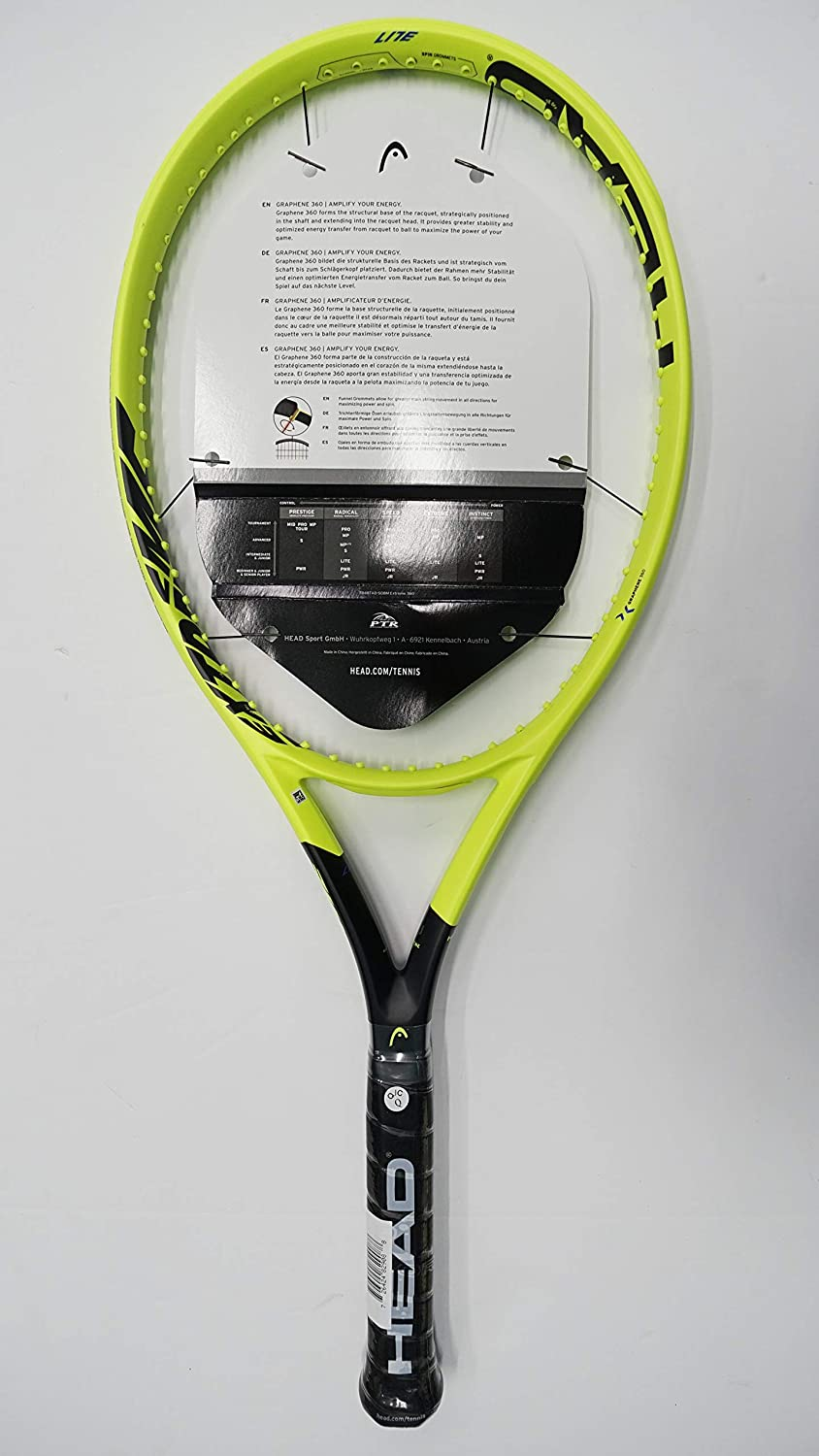 Amazon.com : Head Graphene 360 Extreme Lite Tennis Racquet ...