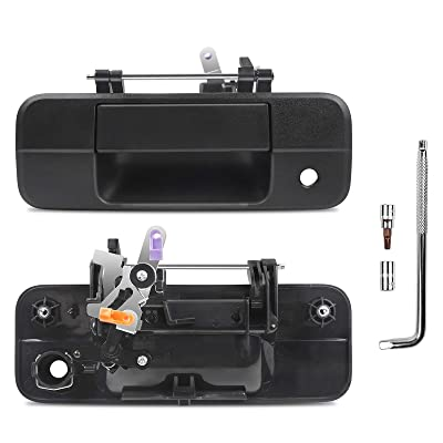 Buy Otuayauto Tailgate Handle With Keyhole Replacement For 2007 2013 Toyota Tundra Black Tailgate Latch Handle Factory Oem 69090 0c040 690900c040 81213 Online In Indonesia B08yjrjhdp