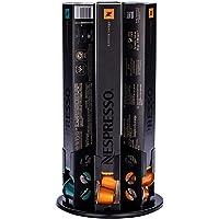 Flagship Nespresso Originaline Coffee Pod Holder 360 Degree Revolving Capsules Rack (60 Pods)