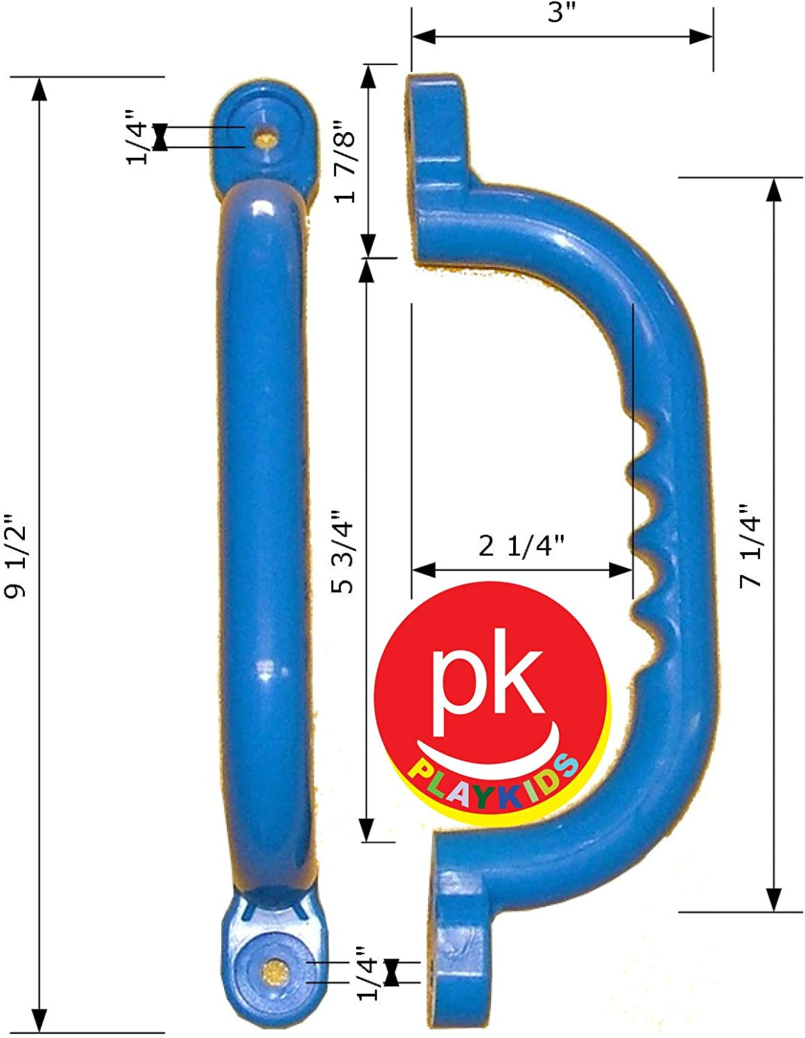 Playkids Safety Grip Handles 10 Colored