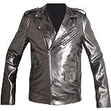 QuickSilver Even Peter X MEN Apocalypse Leather Jacket , FAUX Leather , XXS-3XL