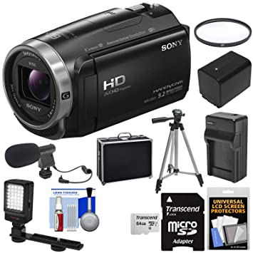 Amazon.com: Sony Handycam hdr-cx675 32 GB Wi-Fi HD cámara de ...
