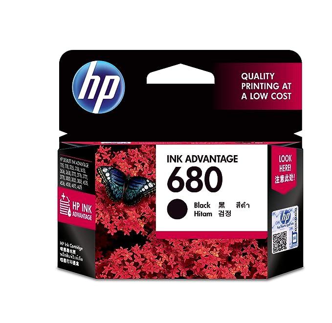 HP 680 Original Ink Advantage Cartridge  Black  Ink Cartridges