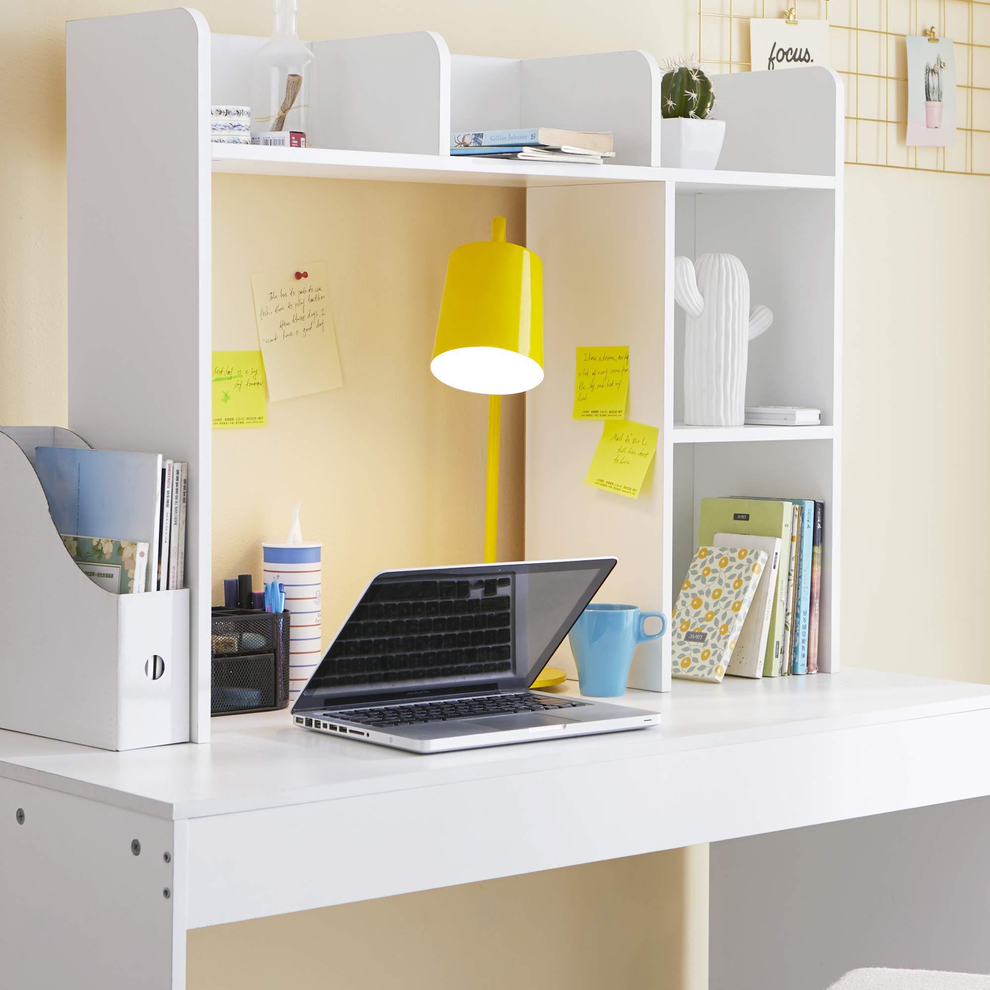 DormCo Classic Desk Bookshelf - White by DormCo (Image #3)