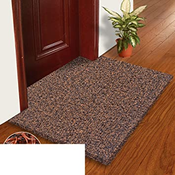 Wire Coil Door Mat Plastic Mats Hall Bathroom Living Room Floor Non