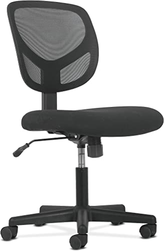 Sadie Swivel Mid Back Mesh Task Chair without Arms – Ergonomic Computer Office Chair HVST101