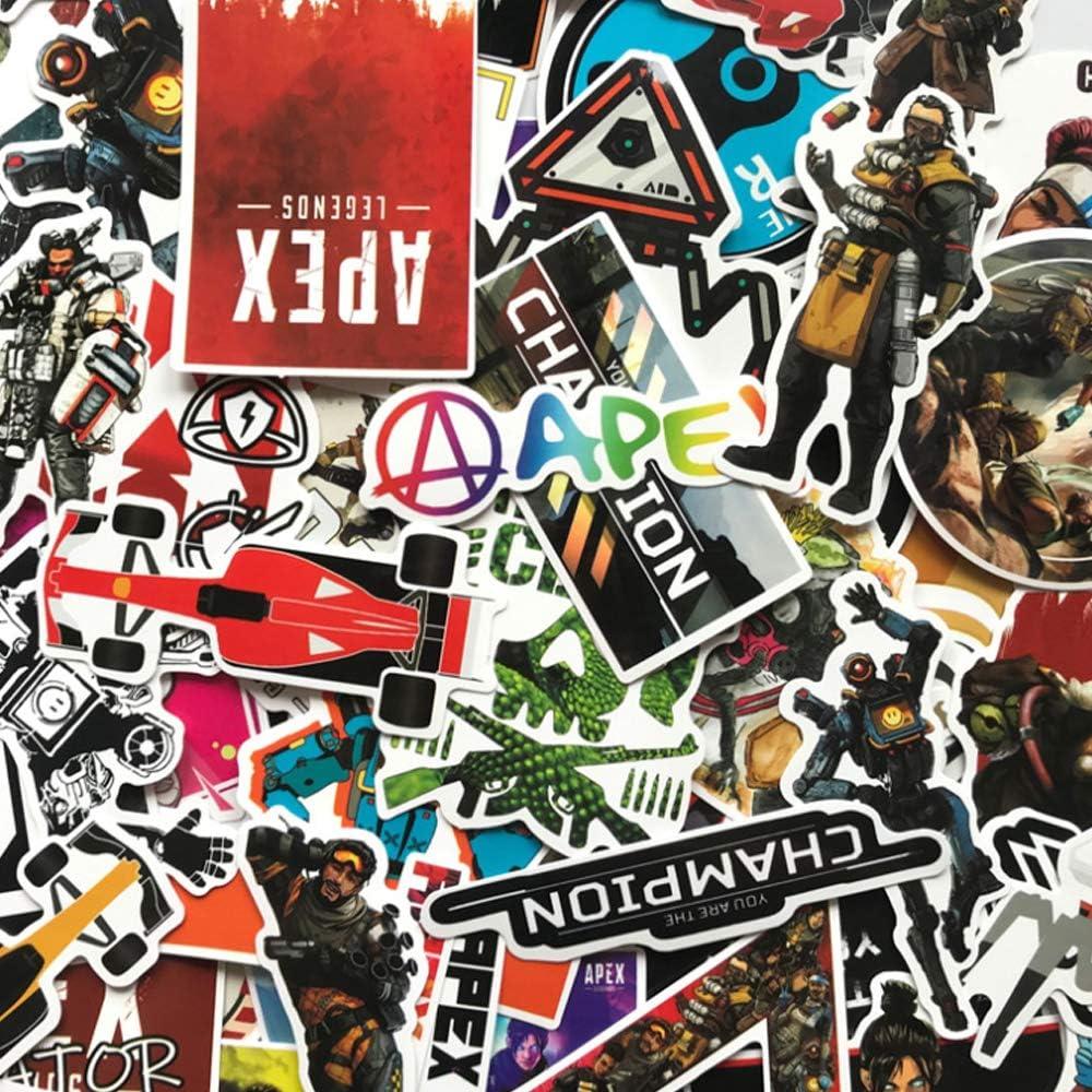 APEX LEGENDS Stickers 80 PCE Bulk Vinyl Skate Car Laptop PC Gamer Decal