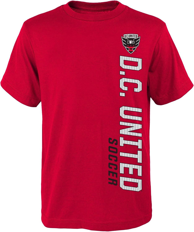 Team color MLS Portugal Boys Outerstuff 3 Piece Short Sleeve Tee Set