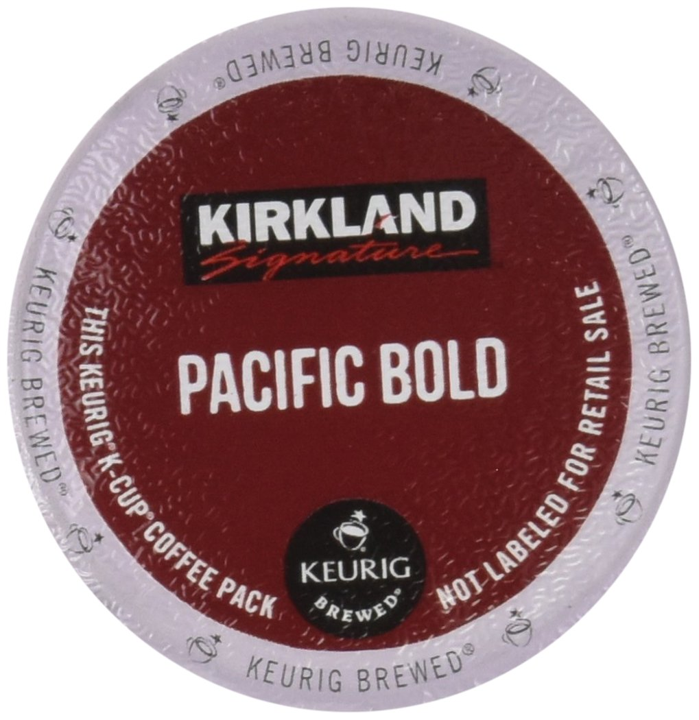 Kirkland Pacific Bold K-Cups, 100 Count by Kirkland Signature