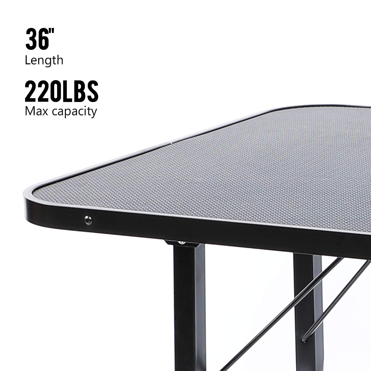 LAZY BUDDY Dog Grooming Table, Pet Grooming Table, 36'' Length Grooming Table for Max Capacity 220 LBS, Foldable, Portable with Adjustable Arms for Small, Medium and Large Dogs and Other Pets. (M)