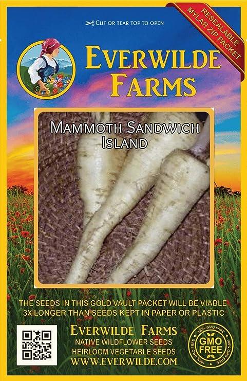Everwilde Farms Mylar Seed Packet 1 Oz Mammoth Sandwich Island Salsify Seeds