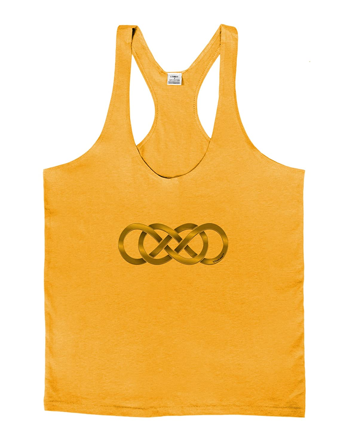 LOBBO TooLoud Double Infinity Gold Mens String Tank Top