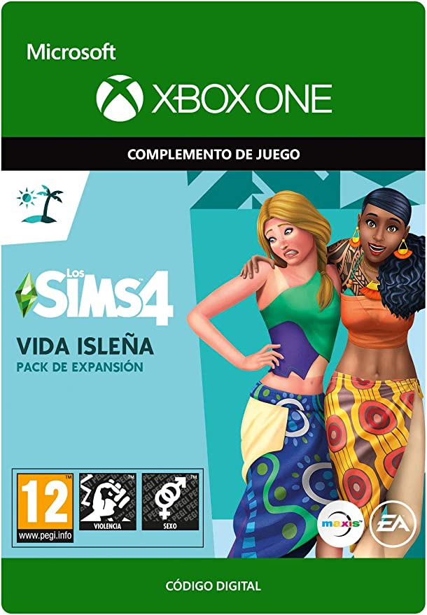 The Sims 4: Island Living | Xbox One - Código de descarga: Amazon ...